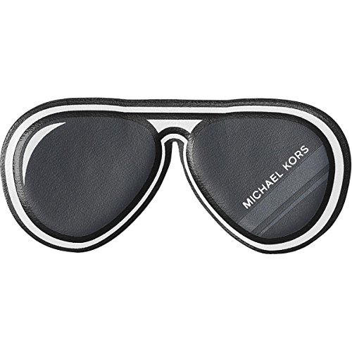 Michael Kors Womens Just Add Aviators Novelty Stick-On Leather Stickers - Michael Aviators Black Kors