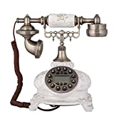 Garden ceramic retro phone home landline phone caller ID phone