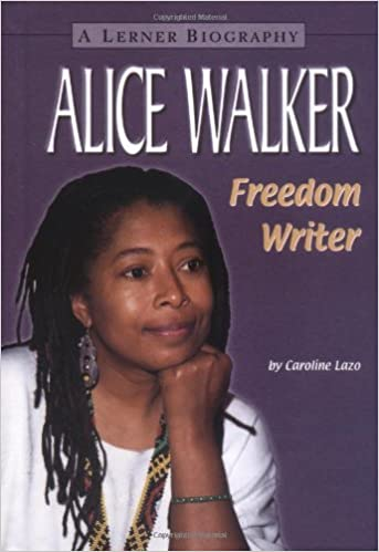 A biography of alice walker an african american writer