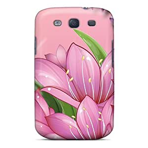 Flexible Tpu Back Case Cover For Galaxy S3 - Treat For Spring