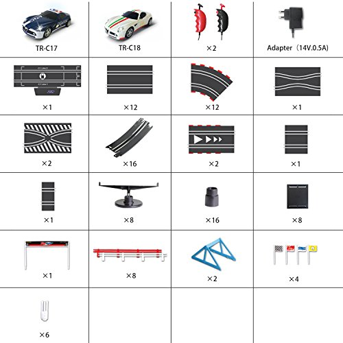 AGM slot car set with racing assistant APP No.ASR-01 1:43 scale by AGM (Image #6)