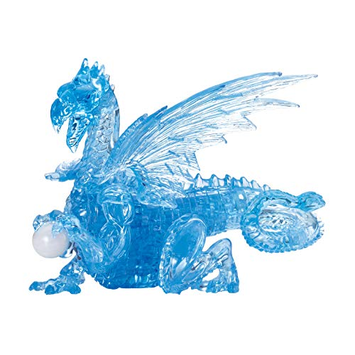 Deluxe Crystal Puzzle-Dragon (Blue)