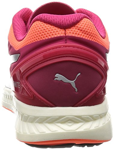 V2 Peach Chaussures Femme Rose puma Course De Red Silver fluo Ignite Puma wxCEzq57F