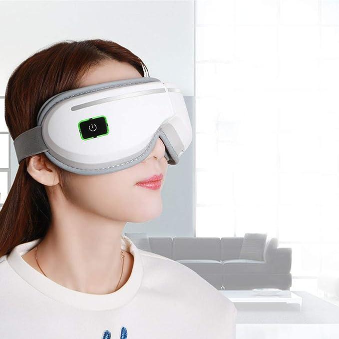 Masajeador eléctrico de ojos Masaje vibratorio con calor ...