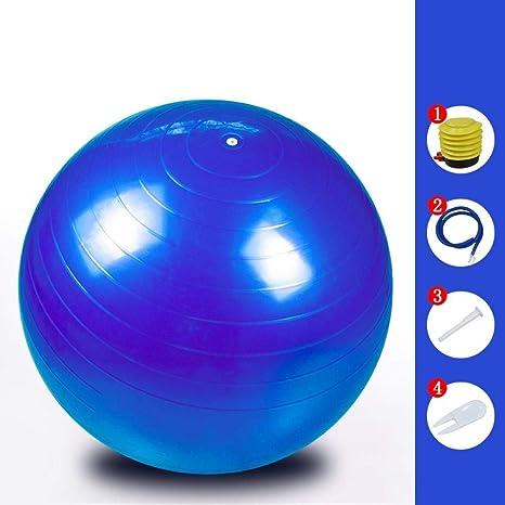 Ssery Balón de Ejercicio de 55 cm, Asiento de Pelota de Yoga ...