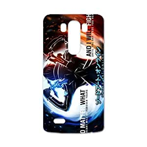 Sword Art Online Design [Lightweight] Personalize Rugged Protective Durable Case for LG G3 Smartphone [Non-Slip] Shock Absorbing and Scratch Resistant Perfect 2 in 1