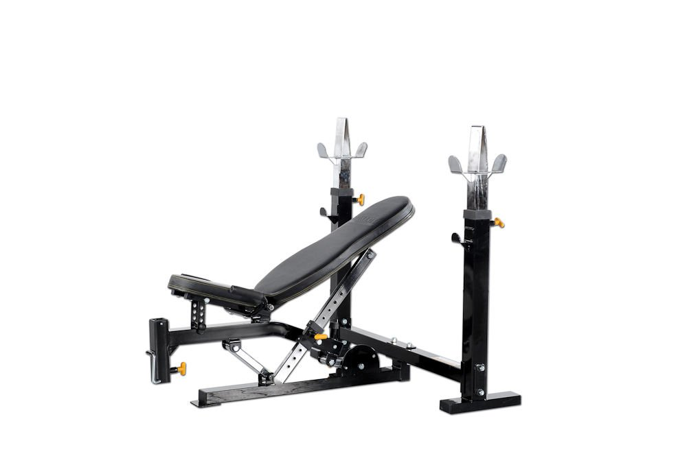 Powertec Fitness Workbench Olympic Bench, Black by Powertec Fitness