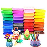 36 Colors Air Dry Clay Ultra Light and Air Dry Clay for Children Non-Toxic and Eco-Friendly Modeling Magical Clay with Tools