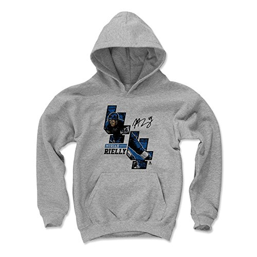 500 LEVEL Morgan Rielly Toronto Maple Leafs Youth Sweatshirt (Kids X-Large, Gray) - Morgan Rielly Offset B
