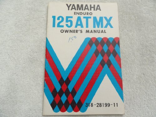 Used, Yamaha 125 AT MX Enduro Owners Manual for sale  Delivered anywhere in USA