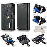 S7 Wallet Case, MZvul Tri-fold Premium Leather