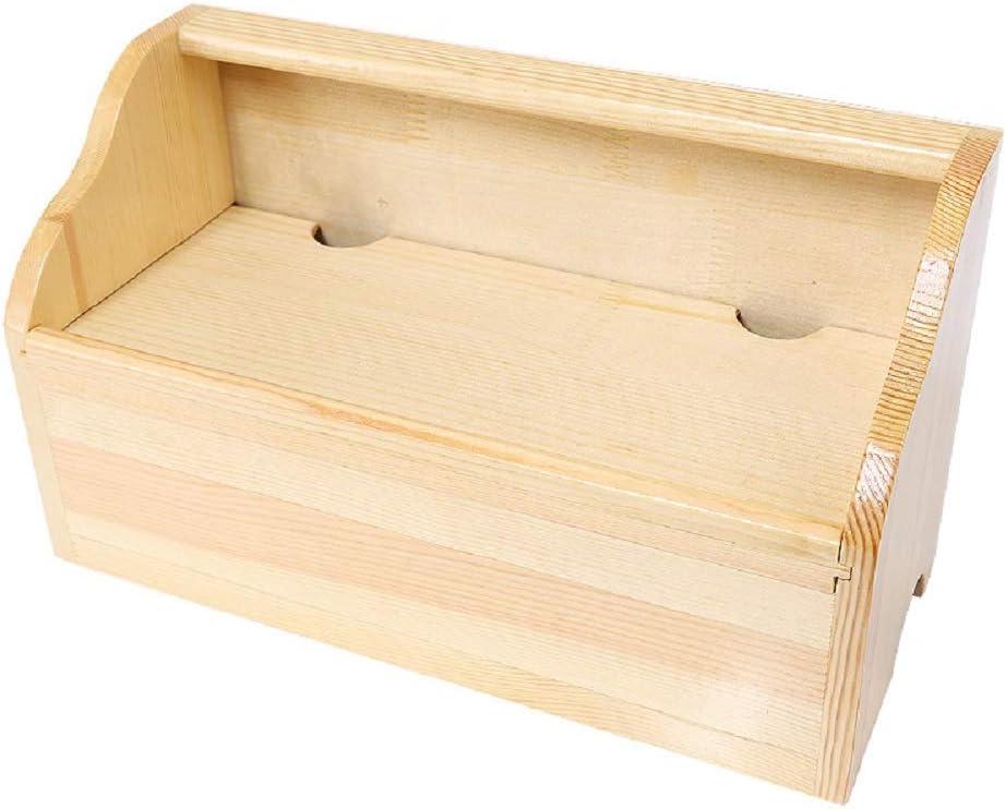 YOSPOSS KZ5327-W976 - Caja organizadora de cables de madera para escritorio, caja de almacenamiento de madera con cable de alambre, bujes USB, caja de extensión de gestión de cables, 35 x 20