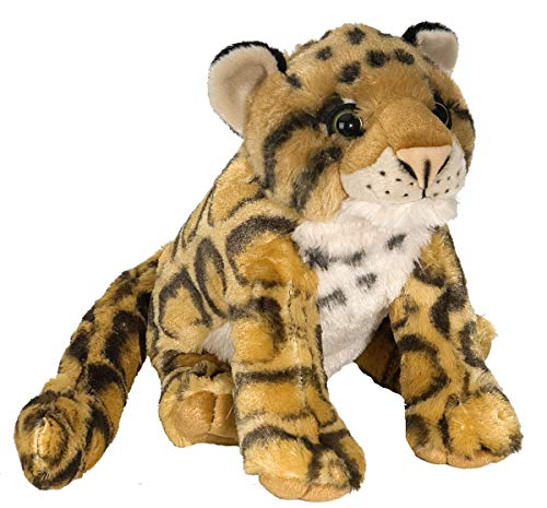 Wild Republic Clouded Leopard Plush, Stuffed Animal, Plush Toy, Gifts for Kids, Cuddlekins 12""