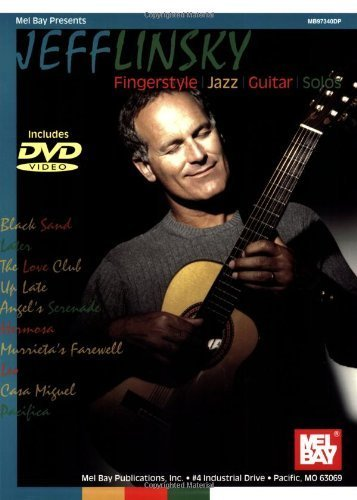 Mel Bay Jeff Linsky Fingerstyle Jazz Guitar Solos Paperback - February 25, 2003