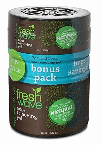 Fresh Wave Odor Removing Gel, 15 oz + 7 oz Free by Fresh Wave