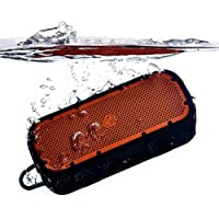 TimoLabs TM-BT003S-2016C-OR Corbett I S (2nd Gen), Rugged and Waterproof Wireless Bluetooth Speaker - Orange