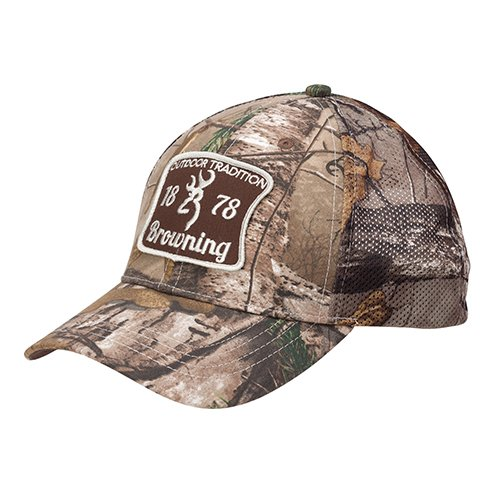 Browning 308172241 Cap, Outdoor Tradition, Realtree Xtra