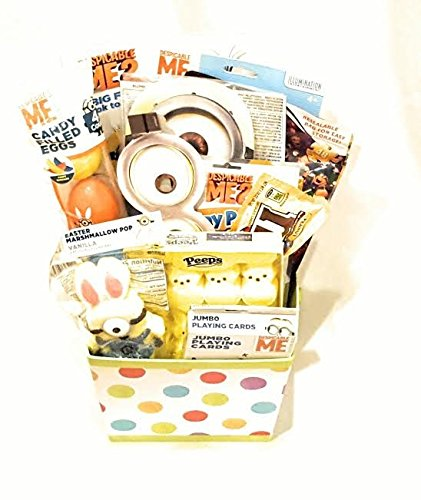 "Despicable Me ""Minions"" Easter Basket or Gift Basket, 12 pcs"