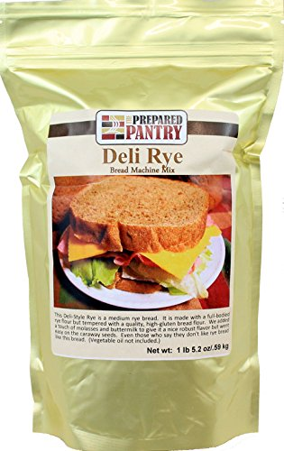 The Prepared Pantry Deli-Style Rye Bread Machine Mix, 21.2 Ounce (Rye Flour Bread Machine compare prices)