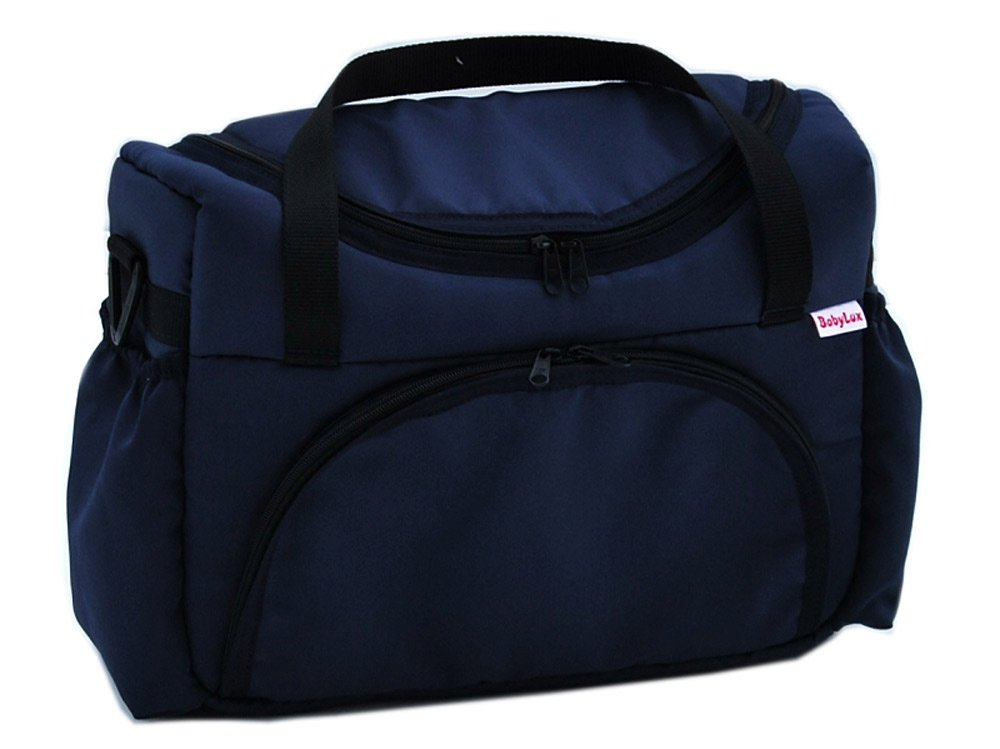 Wickeltasche Kinderwagentasche BRAUN mit Wickelunterlage