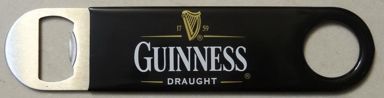 Guinness Girder Style Metal Bottle Opener Magnet with Guinness Ireland Text