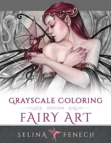 Fairy Art - Grayscale Coloring Edition for sale  Delivered anywhere in Canada