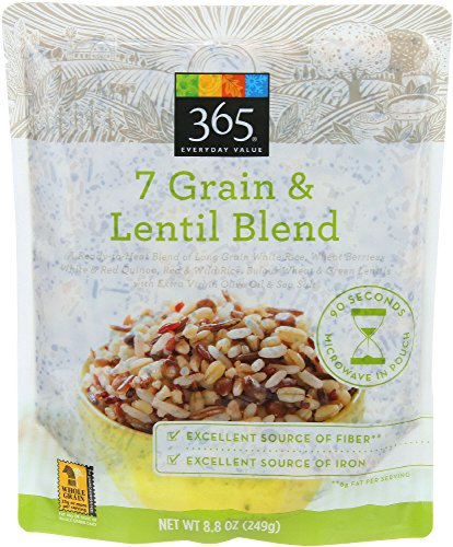 (365 Everyday Value, 7 Grain & Lentil Blend, 8.8 oz, (Ready to Heat))