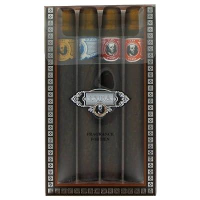 Cuba Red - Coffret Cadeau comprenant les 4 Varietes Cuba 35 ml