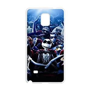 Jack Skellington Samsung Galaxy Note 4 Cell Phone Case White Exquisite gift (SA_575280)