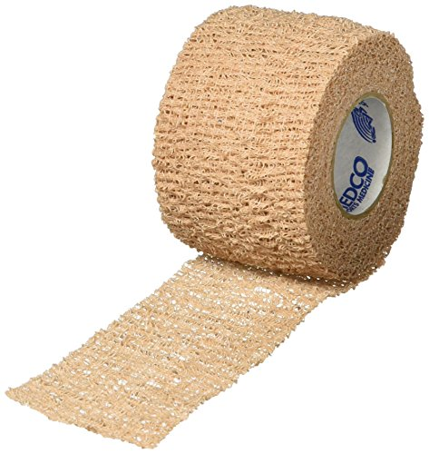 Pro-Trainer Cohesive Tape, 1-1/2'' x 6 yd, Tan