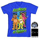 Five Nights At Freddy's Neon Boys Youth T-shirt Licensed