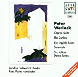 Warlock: Capriol Suite; The Curlew; Six English Tunes; Serenade; Six Italian Dance Tunes; Ross Pople/London Festival orchestra