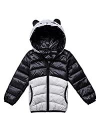 YOUNGBEST Toddler Baby Hoodie Down Jacket Cartoon Puffer Winter Outwears Coat