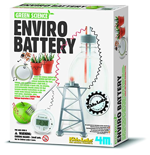 4M Kidz Labs Green Science Enviro Battery