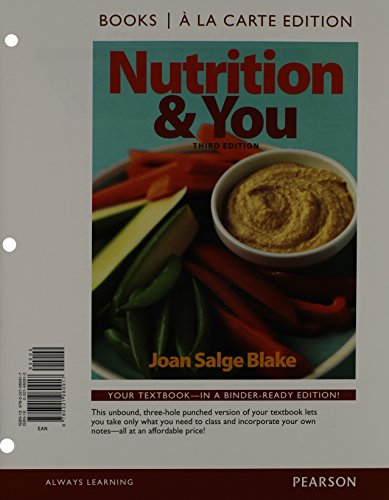 Nutrition+You (Ll) W/Masteringnutrition