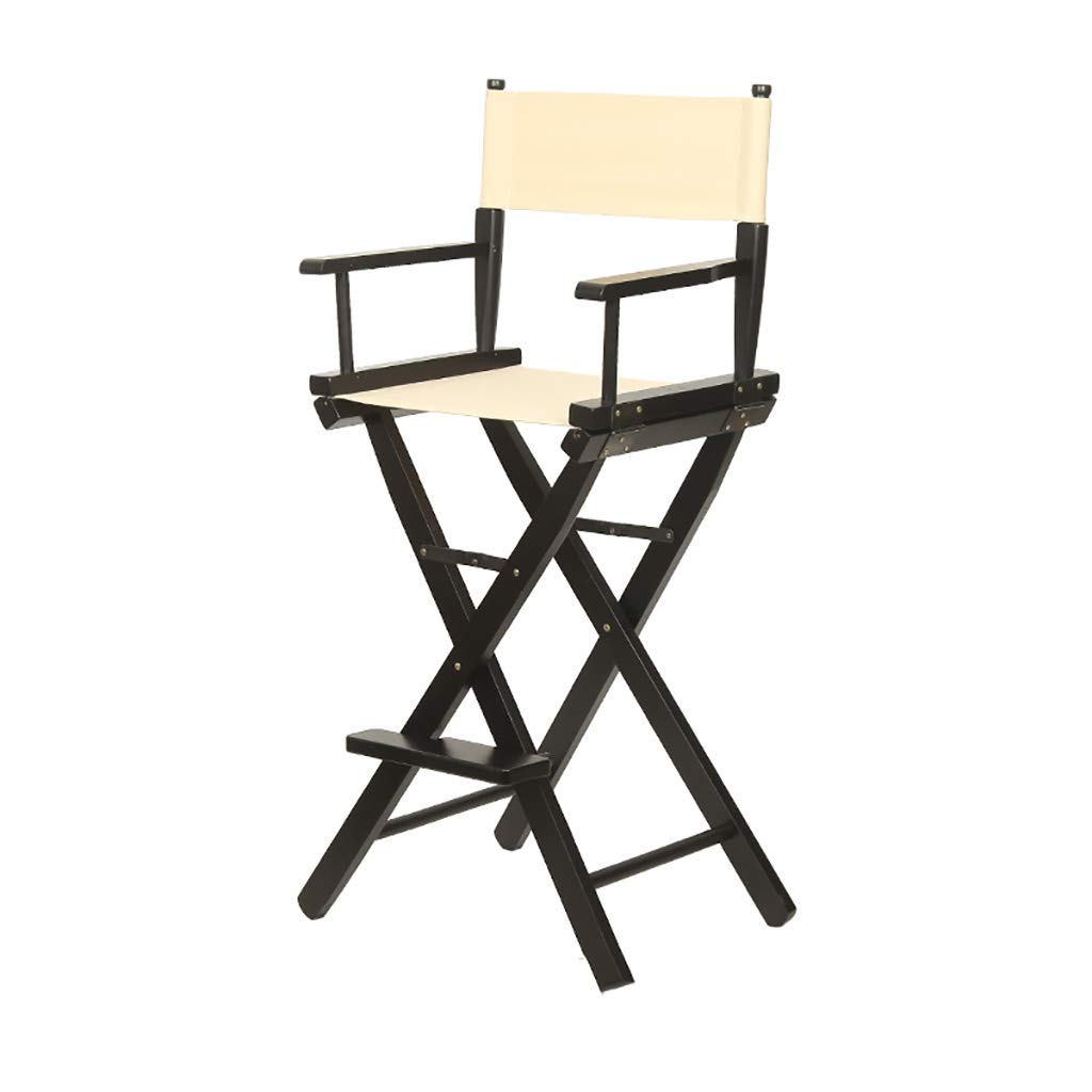 Taburete de madera maciza director silla multifunción ...