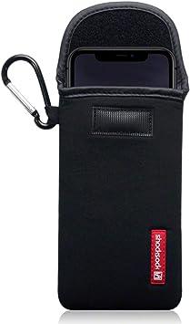 Shocksock Funda para iPhone 11 de Neopreno, Sistema de Cierre con Velcro: Amazon.es: Electrónica