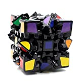 Fancyku Gear Cube 3D Twisty Puzzle 3x3x3 Magic Cube Great Brain Teasing Game for Kids and Adults
