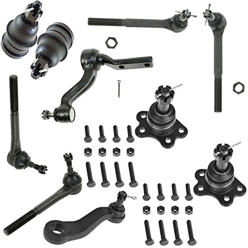 Gmc C2500 Suburban Pitman Arm (Front Ball Joint Tie Rod End Pitman Idler Arm Kit for Chevy C1500 Truck C2500 Truck Suburban C1500 GMC C1500 Truck C2500 Truck Suburban C1500)