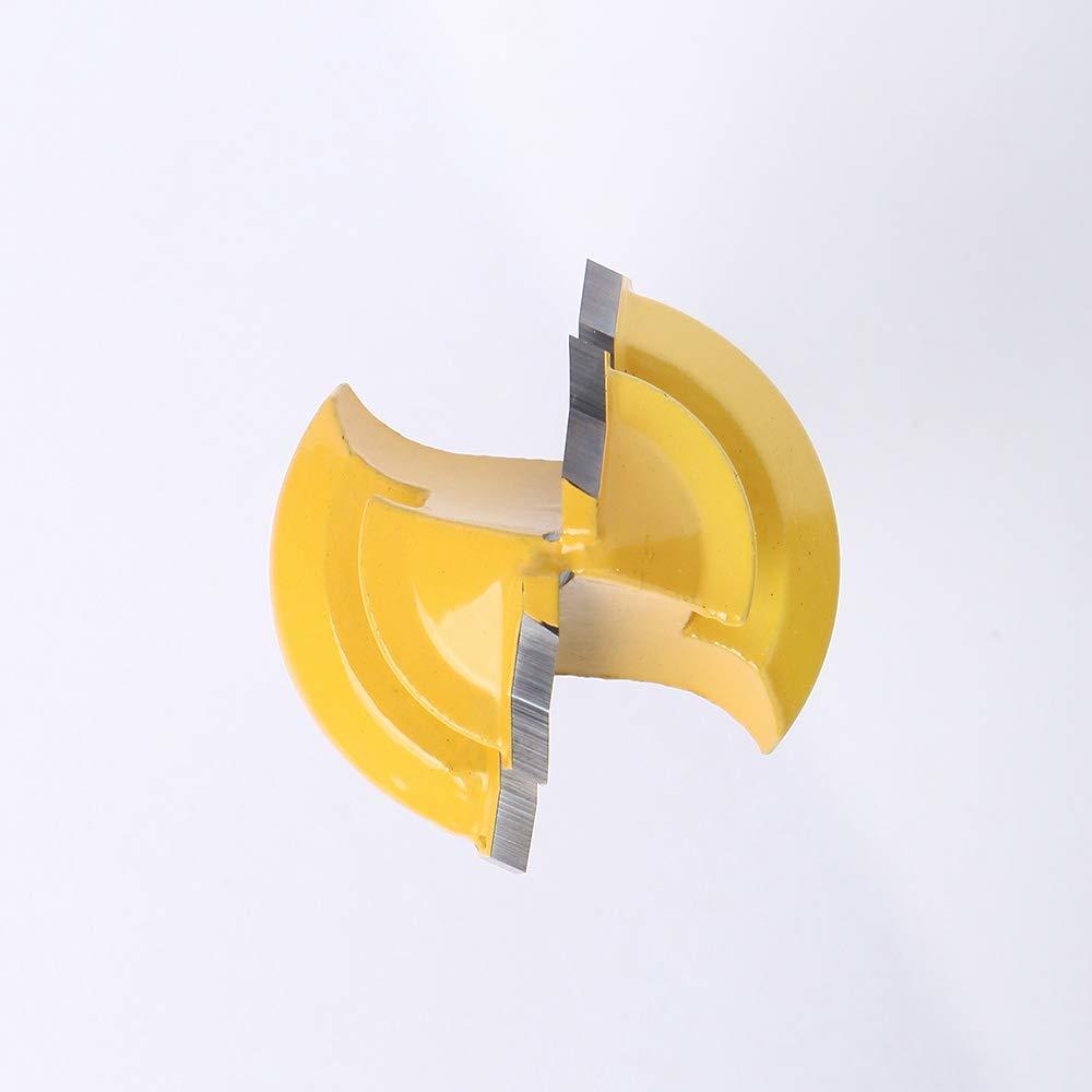 1//4 pouces Shank Fraise /à bois outil hgfter 45 degr/és de verrouillage Mitre Toupie Boiseries Tenon outil de coupe W