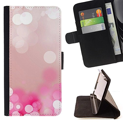 (White Water Pearl Ice Reflection - Colorful Pattern Flip Wallet Leather Holster Holster Protective Skin Case Cover For Apple (4.7 inches!!!) iPhone 6 / 6S)