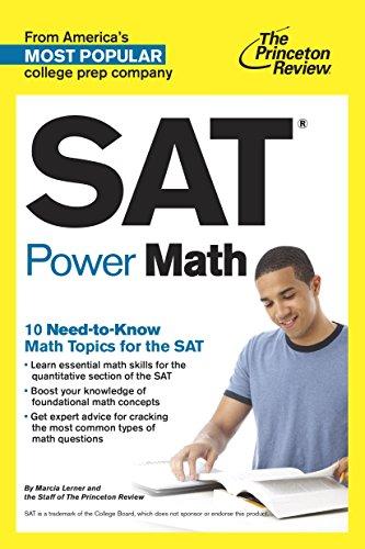 The Princeton Review SAT Power Math (1st 2014) [Lerner & Princeton Review]