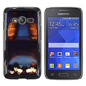 LECELL--Funda protectora / Cubierta / Piel For Samsung Galaxy Ace 4 G313 SM-G313F -- Love Paris France Eifel Tower Tour --
