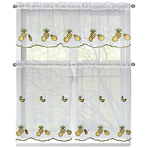 Pineapple Kitchen Curtains