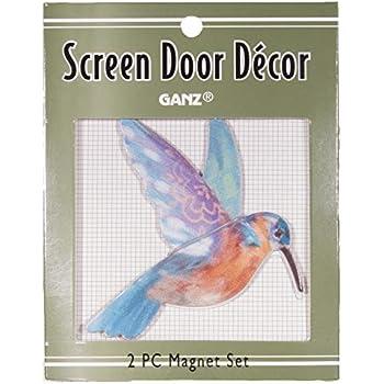 Amazon Com 3 Inch Hummingbird Metal Screen Door Saver 2