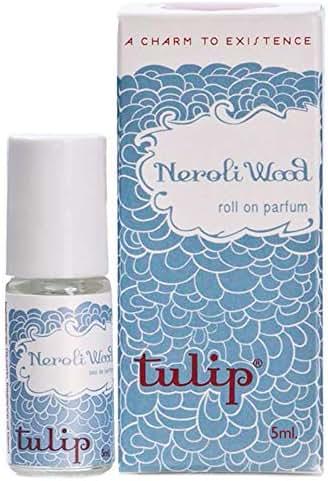 Tulip Perfume Classic Roll On Eau De Parfum, Neroli Wood, 0.6 Ounce