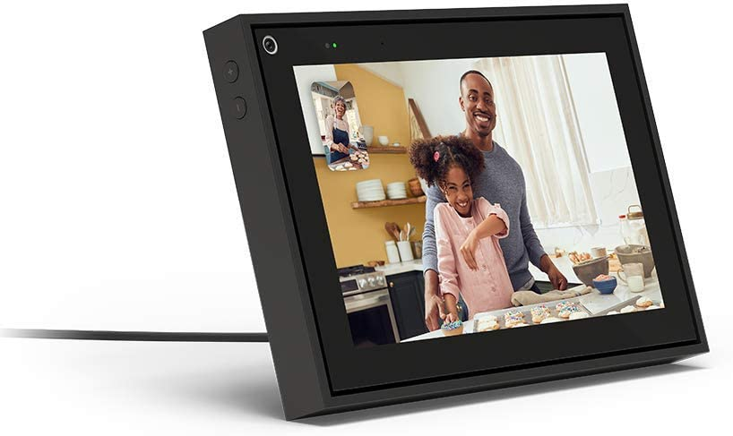 Amazon Com Facebook Portal Mini Smart Video Calling 8 Touch Screen Display With Alexa Black Computers Accessories