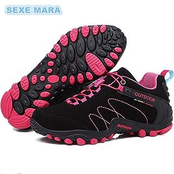 2ad6a0db48f0df Größe 35-44 Sneakers Damenschuhe Outdoor Schuhe Laufschuhe für Frauen  rutschfeste Off-road Jogging
