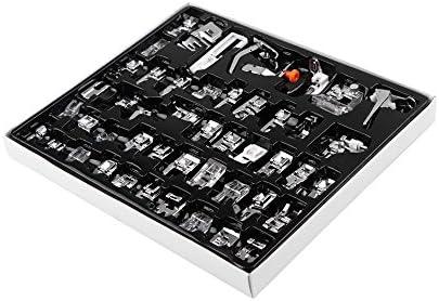 Máquina de coser prensatelas, 48 piezas, en maletín para Kit de ...