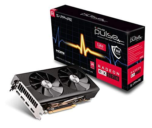 Sapphire 11266-75-20G Radeon Pulse RX 570 8GB GDDR5 Dual HDMI / Dual DP OC (UEFI) PCI-E Graphics Card
